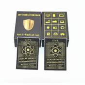 Anti Radiation Shield EMR Bio Energy Sticker for Cellphone Laptop Fridge TV 4G 5G